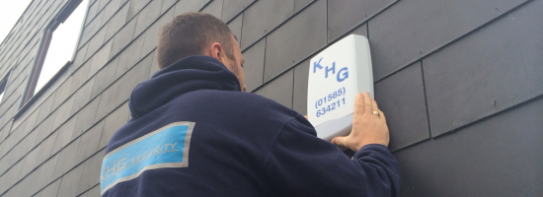 KHG Security banner